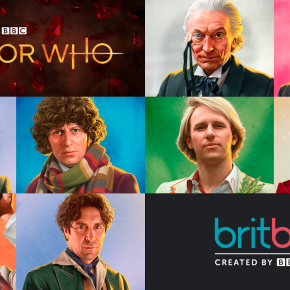 Classic Doctor Who touches down on BritBox!