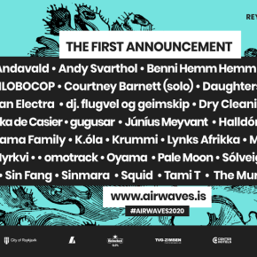 Iceland Airwaves reveals first acts for 2020 – Courtney Barnett, Metronomy, Black Pumas, Daughters of Reykjavik, Júníus Meyvant and more!