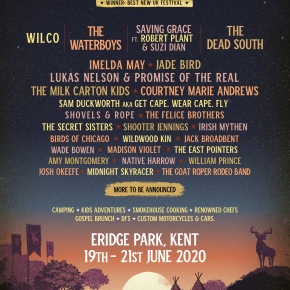 More huge acts confirmed for Black Deer Festival 2020!