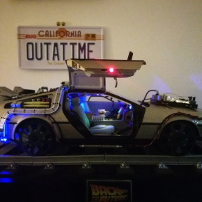 Building my own Back to The Future DeLorean [Parts 132 – 159 Build Blog]