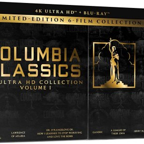 Six iconic Columbia Classics coming to 4K UHD for the first time!