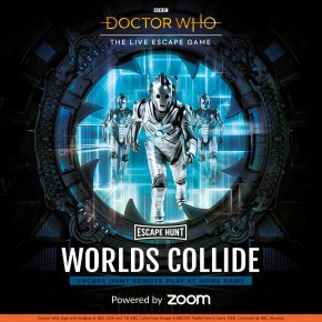 Escape Hunt launch brand new Doctor Who remote play-at-home Escape Roomexperience!