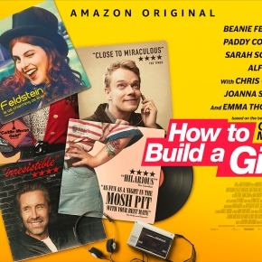 Great new trailer for How To Build a Girl starring Beanie Feldstein, based on the Caitlin Moran novel