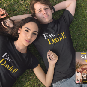 Win Schitt's Creek: The Complete Collection on DVD and a Lone Pine Apparel Tee!