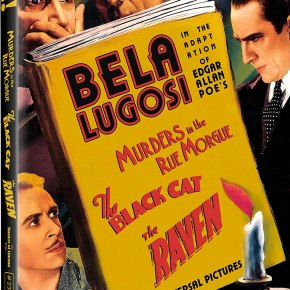 Bela Lugosi stars in Edgar Allan Poe adaptations: Murders in the Rue Morgue / The Black Cat / The Raven Blu-ray reviews (Masters of Cinema)