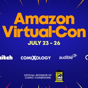 Amazon Prime Video announces four Comic-Con@Home panels!