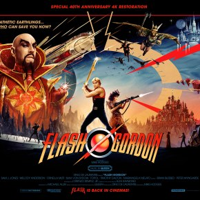 Flash Gordon 40th Anniversary Blu-ray review: Dir. Mike Hodges