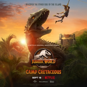 Check out the trailer for new Netflix animated series Jurassic World: Camp Cretaceous