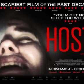 Excellent trailer and poster for UK horror Host, released 4th December on all platforms!