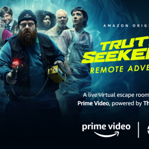 Amazon Original #TruthSeekers launches all-new Virtual EscapeRoom!