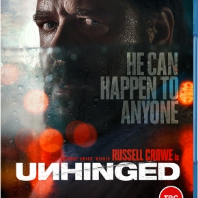 Win Unhinged, starring Russell Crowe and Caren Pistorius, on Blu-ray!