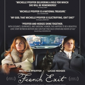 Michelle Pfeiffer and Lucas Hedges star in sharp, provocative trailer for French Exit