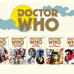 New Titles Added to the Doctor Who Target Collection