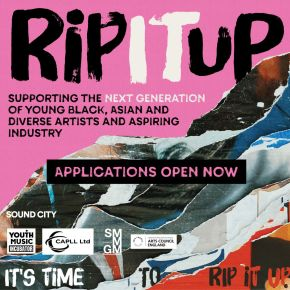 Bursary programme 'Rip It Up' launched to support young Black, Asian and diverse talent in the music industry – Applications Open!