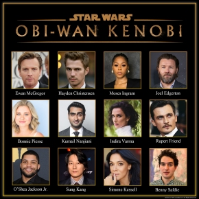 Cast announced and production to begin on Obi-Wan Kenobi, starring Ewan McGregor and Hayden Christensen!