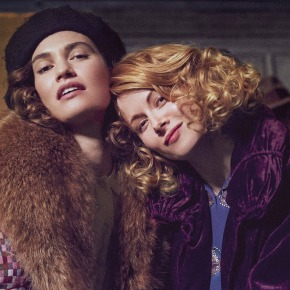 Raucous trailer for Emily Mortimer's adaptation of The Pursuit of Love starring Lily James and Emily Beecham