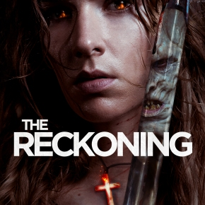 Win a limited edition poster for Neil Marshall's The Reckoning, starring Charlotte Kirk