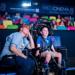 MediCinema: Going to the cinema improves Mental Health of NHSPatients