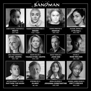 Netflix announces cast for adaptation of Neil Gaiman's TheSandman