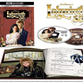 Special Edition 4K UHD being released for the 35th Anniversary of Jim Henson'sLabyrinth