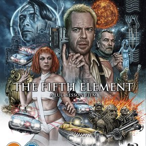 Father's Day Films: Godzilla and The Fifth Element on 4KUHD!