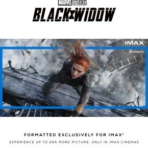 Marvel's Black Widow to open with Expanded Aspect Ratio exclusively inIMAX