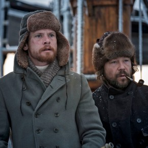 First look at Jack O'Connell, Colin Farrell, and Stephen Graham in the upcoming drama series The North Water for theBBC