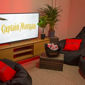 A chance to stay at the ultimate Gamers Getaway with CaptainMorgan!