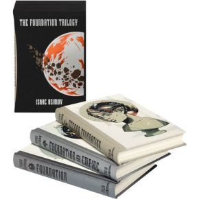 The Folio Society bring back Isaac Asimov's The Foundation Trilogy, to get us ready for the new Apple TV series 'Foundation' starring JaredHarris