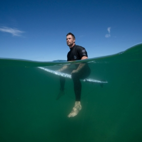 Shark Beach with Chris Hemsworth review [Sharkfest! on National GeographicWILD]