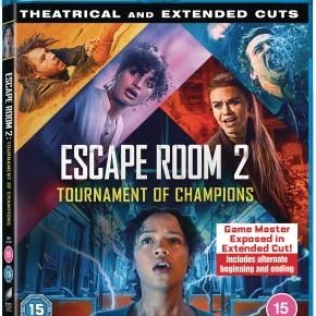 Win Escape Room 2:Tournament of Champions onBlu-ray!